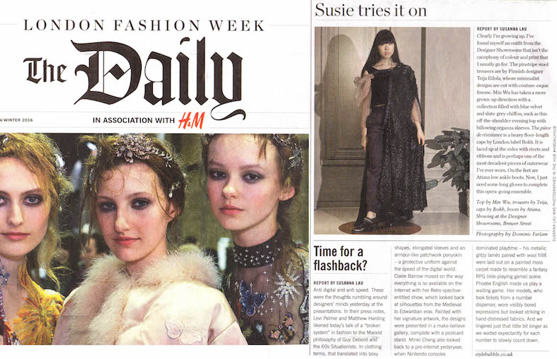 London Fashion week - Susie Bubble flashback